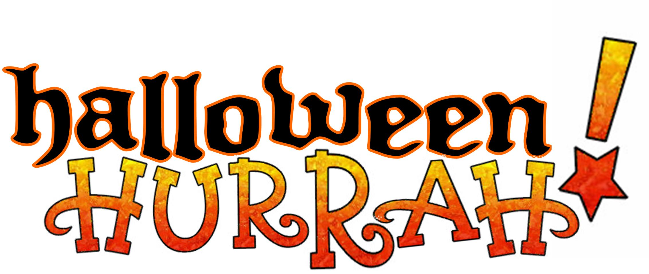 Halloween Hurrah Logo No Year